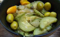 recette de courgettes au citron confit