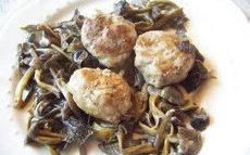 recette de crépinettes et champignons
