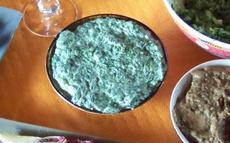 recette de épinards au yaourt