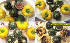 recette de légumes farcis à la viande