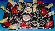 recette de salada fattouche (Syrie)