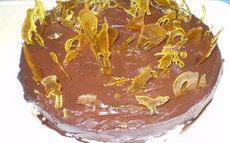recette de Gâteau au chocolat et  crème caramel