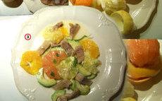 recette de salade de harengs aux agrumes et avocat