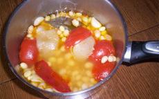 recette de haricots mi-secs à la tomate