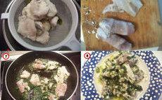 recette de langues de cabillaud sauce verte