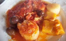 recette de morue aux légumes à l'italienne