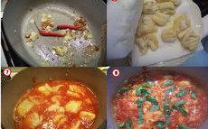 recette de morue  à la tomate