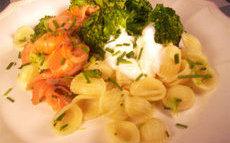 recette de orechiette au saumon fumé et aux brocolis