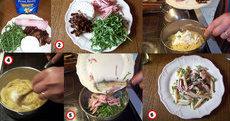 recette de penne aux tomates séchées, roquette et chèvre