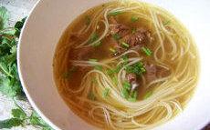 recette de Pho – soupe vietnamienne au boeuf et aux nouilles
