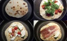 recette de Mini pizzas sans four