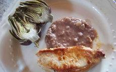 recette de Côtes de porc sauce vinaigrette à lail doux