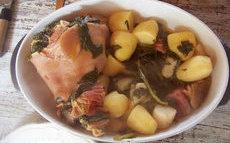 recette de jarret de porc aux fanes de navet