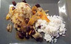 recette de poulet aux oranges amères et aux olives violettes – le plat de la vie