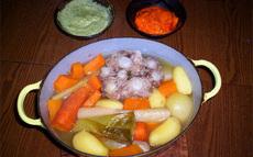 recette de queue de veau en pot-au-feu