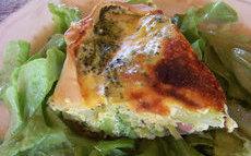 recette de quiche aux lardons et brocolis