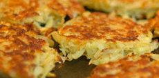 recette de Recette Mini crêpes de pomme de terre et d'oignon (Israel)