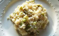 recette de risotto aux poireaux