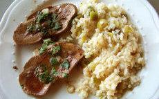 recette de rognons poêlés, ail et persil