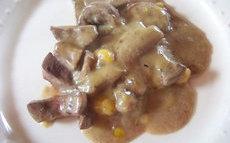 recette de Rognons sauce moutarde sans lait ni gluten