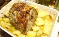 recette de Rôti de porc maison aux pommes de terre