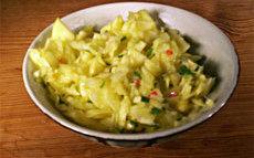 recette de rougail mangue verte