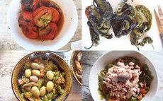 recette de salade méchouia aux piments verts doux