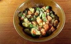 recette de salade russe