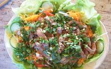 recette de salade thaï au boeuf