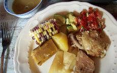 recette de Sancocho columbiano (pot au feu à la manière colombienne)
