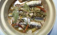 recette de Recette sardines à l'escabêche