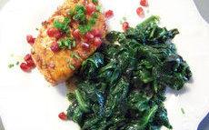 recette de saumon sauce aigre-douce aux grains de grenade