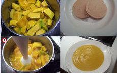 recette de soupe de courge au foie gras