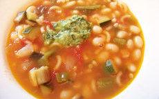 recette de Recette soupe d'été aux haricots