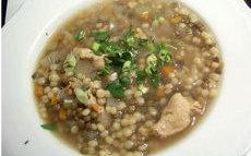 recette de soupes de poulet – recette avec  légumes, lentilles et  berkoukes