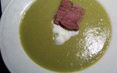 recette de soupe de pois cassés au jambon