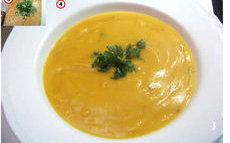 recette de soupe de courge