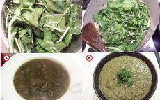recette de Soupe de lentilles aux blettes
