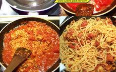 recette de spaghettis au thon