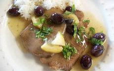 recette de Tajine de langue de boeuf aux olives et citron confit