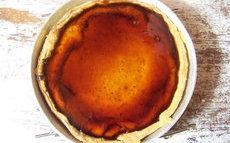 recette de Tarta de queso – tarte au fromage frais, citron et caramel