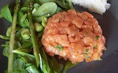 recette de tartare de saumon