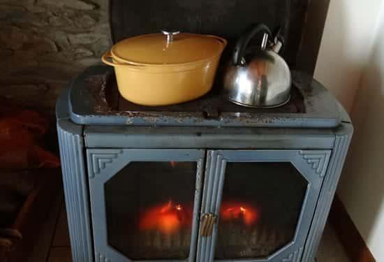 cuisine au coin du feu