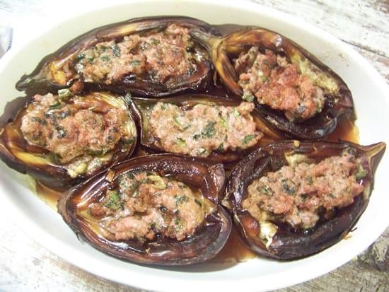 aubergines farcies