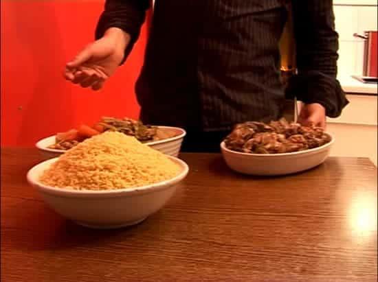 recette de couscous à l'agneau aux légumes
