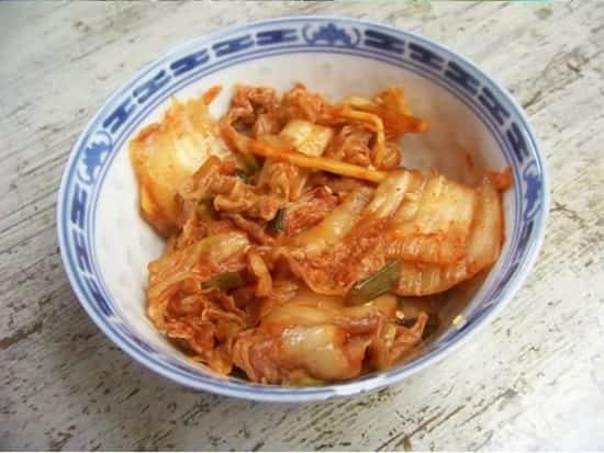 kimchi de chou chinois