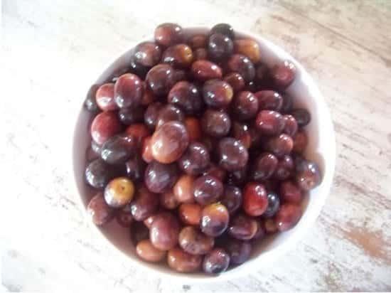 préparation des olives noires maison