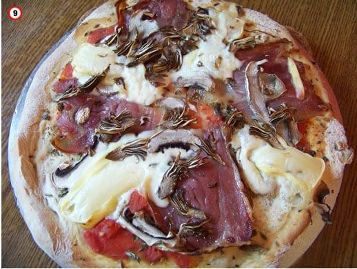 recette de la pizza maison