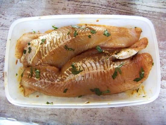poisson à la chermoula