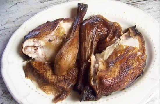 poulet fumé maison